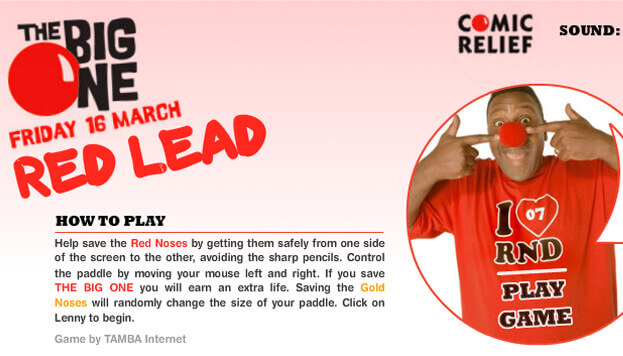 Comic Relief: Red Lead
